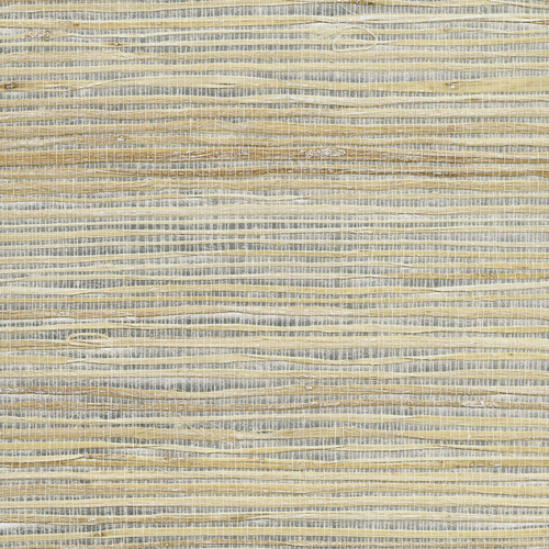 Kenneth James by Brewster 2732-80004 Luzhou Silver Grasscloth Wallpaper