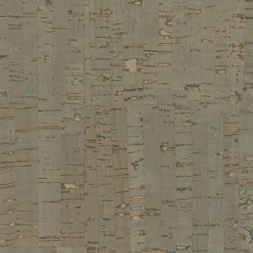 Kenneth James by Brewster 2622-49496 Jade Misha Dark Grey Wall Cork Wallpaper