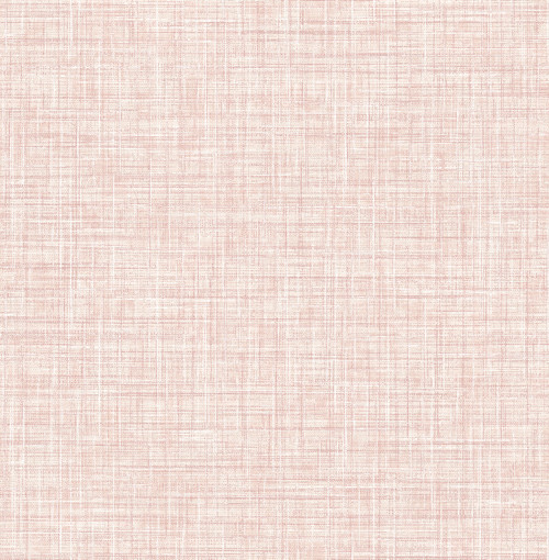 A-Street Prints by Brewster 2793-24272 Poise Pink Linen Wallpaper