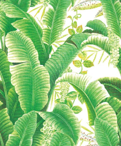 Grace & Gardenia G63151 Hotel Beverly Hills Tropical Banana leaf Wallpaper