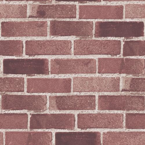 Grace & Gardenia G05C8804 Classic Red Brick Wallpaper