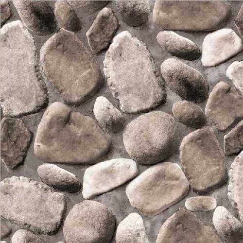 Grace & Gardenia G63093 Washed Stones Gray Wallpaper