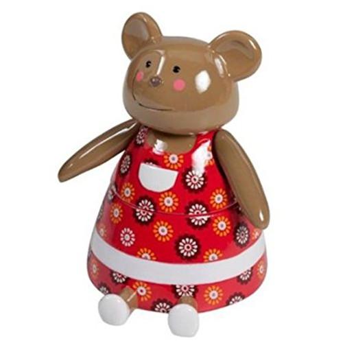 Little Friends Teddy Bear , Covered Jar