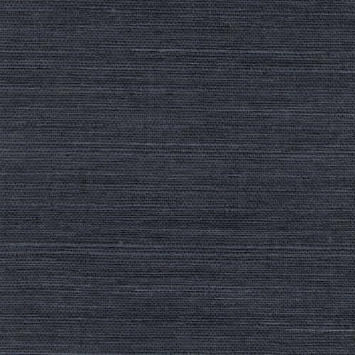 Kenneth James by Brewster 2732-80088 Peninsula Navy Sisal Grasscloth Wallpaper