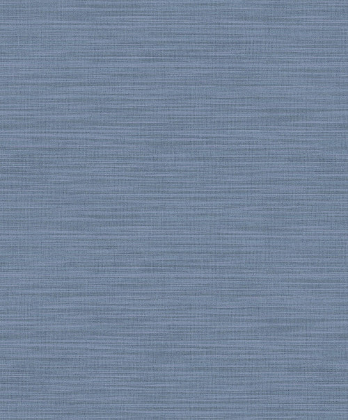 Brewster 2812-AR40104 Advantage Surfaces Ashleigh Blue Linen Texture Wallpaper Blue