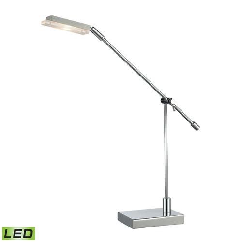 Bibliotheque Adjustable LED Desk Lamp Dimond Lighting D2708 in Polished Chrome
