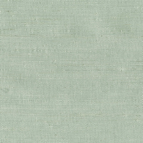Kenneth James by Brewster 63-65609 Shangri La Fen Kimi Light Green Grasscloth Wallpaper