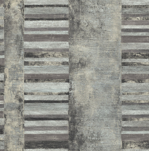 Seabrook wallpaper in Gray, Off White MW30300