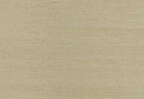 Kenneth James by Brewster 63-44505 Shangri La Fen Beige Grasscloth Wallpaper