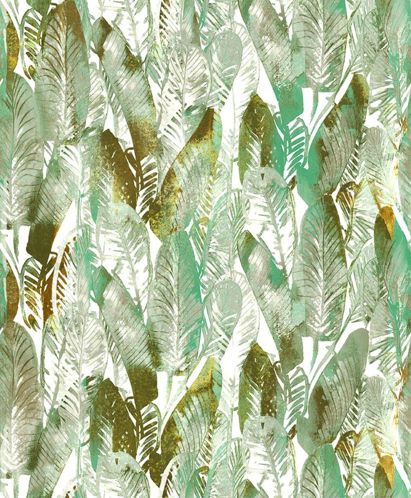 Grace Gardenia Gyf473704 Green Tropical Exotic Palm Leaves Wallpaper The Savvy Decorator All the pictures were fully created in adobe illustrator. grace gardenia gyf473704 green tropical exotic palm leaves wallpaper