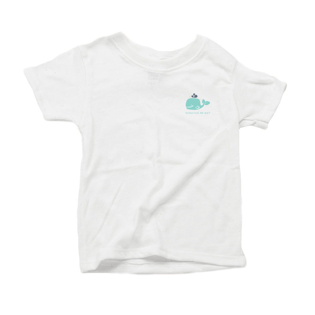 ScratchMeNot Short Sleeve tee for Toddlers - Whale Print