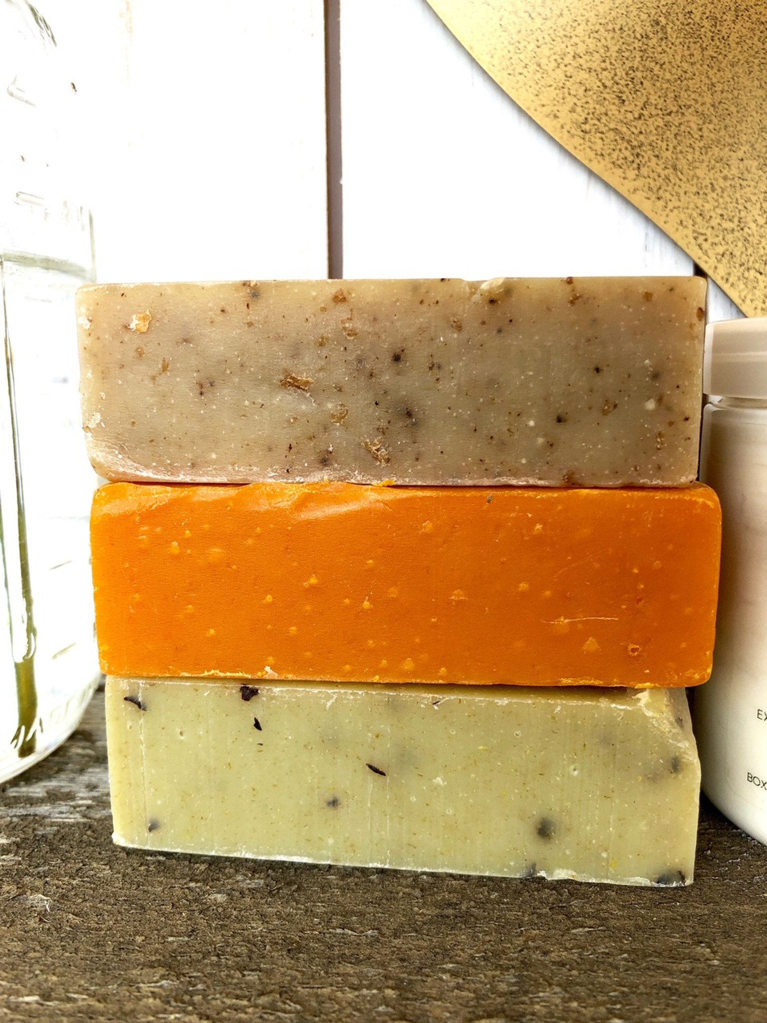 Trio Pack 1)spiced oatmeal 2) citrus lavender 3) peppermint