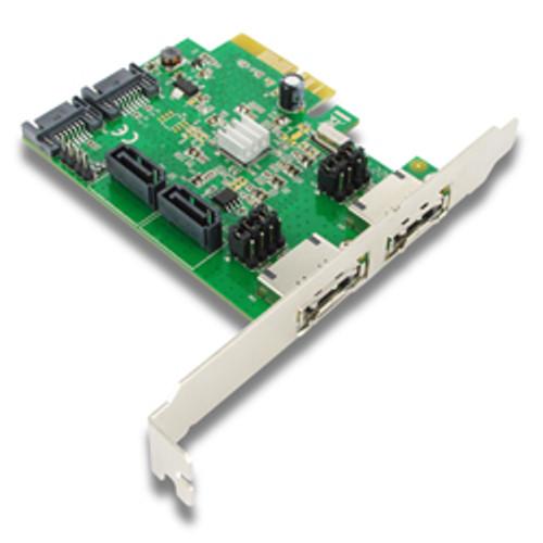 EST11B SKYMASTER PCIe 4 PORT SATA 6G CARD