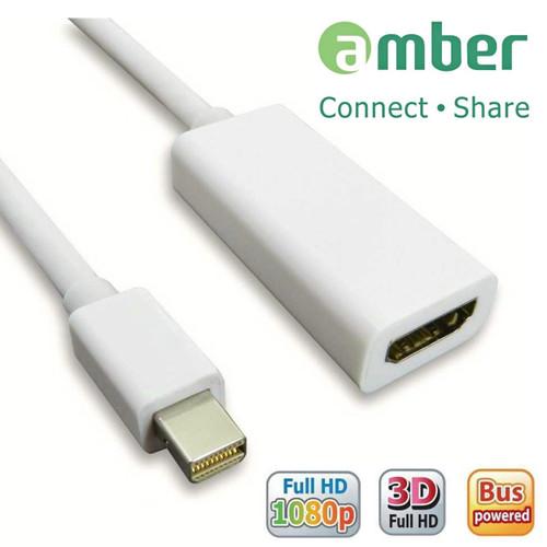 AMBER MDP-01 MINI DISPLAY PORT TO HDMI ADAPTER