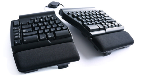 Matias Programmable Ergo Pro Keyboard for PC