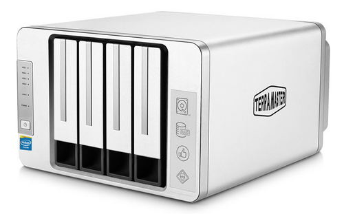 TerraMaster F4-220 4-Bay Dual-Core CPU 2GB Ram NAS