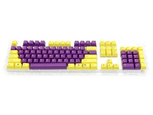 Filco Double-shot 104-Key keycap set for Majestouch 2 - Yellow & Purple