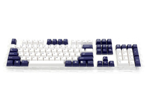 Filco Double-shot 104-Key keycap set for Majestouch 2 - Navy & White