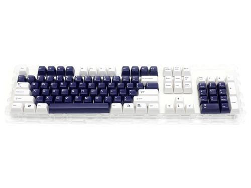 Filco Double-shot 104-Key keycap set for Majestouch 2 - White & Navy