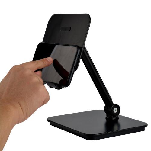 BlueEye 3-in-1 Full Motion Smartphone & Tablet & Notebook Stand Holder - Black
