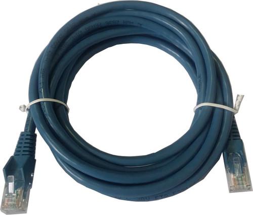 AKY CAT6A GIGABIT NETWORK PATCH LEAD 0.25M BLUE