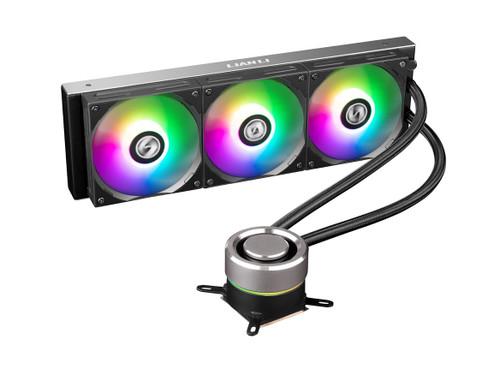 Lian Li Galahad 360 Closed Loop ARGB AIO Liquid CPU Cooler - Black