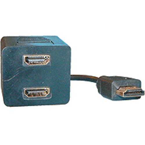 S018N HDMI 19 PIN M , 2 x HDMI 19 PIN F