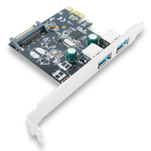 EU307A SKYMASTER PCIe USB3.0 2  PORT CARD