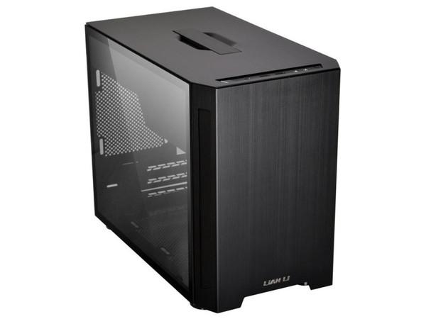 Lian Li PC-TU150WX Black Mini ITX Aluminum Case, T/G Window, No PSU