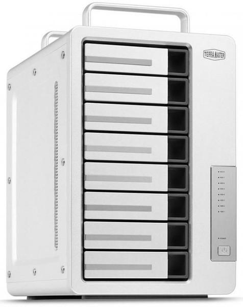TerraMaster D8-330 8 Bay Thunderbolt 3 SATA HDD/SSD Enclosure