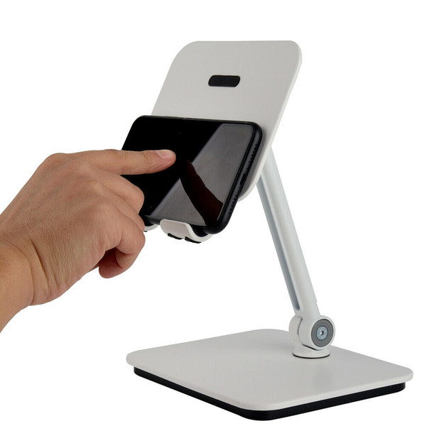 BlueEye 3-in-1 Full Motion Smartphone & Tablet & Notebook Stand Holder - White