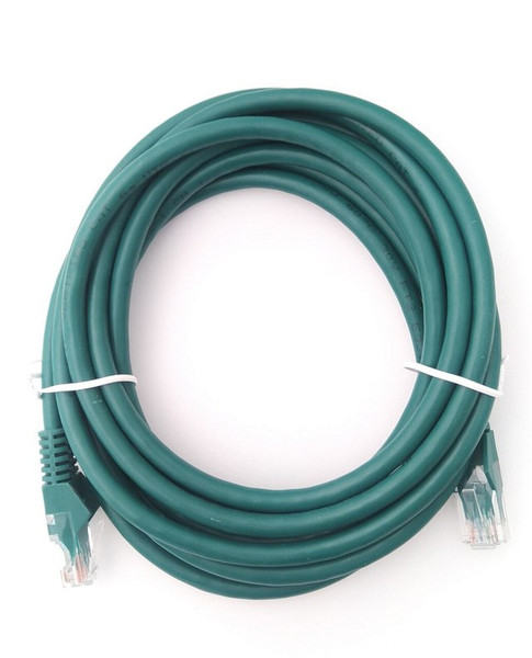AKY CAT6A GIGABIT NETWORK PATCH LEAD 50M GREEN