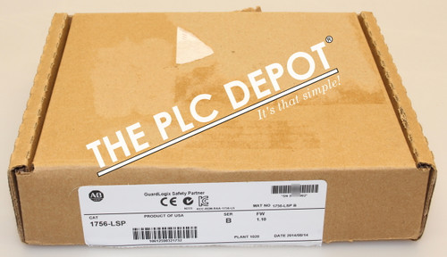 2014 *NEW ORIGINAL BOX! Allen Bradley 1756-LSP /B 1.10 ControlLogix Safety CPU