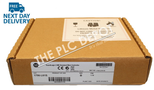 *SEALED* Allen Bradley 1756-L61S GuardLogix 2013 *FREE EXPEDITED DELIVERY*