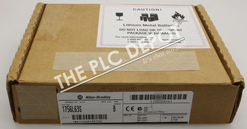 2012 SEALED! Allen Bradley 1756-L63S /B GuardLogix *FREE EXPEDITED  DELIVERY*