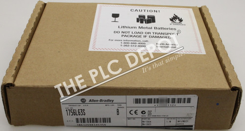 2011 SEALED! Allen Bradley 1756-L63S /B GuardLogix *FREE EXPEDITED  DELIVERY*