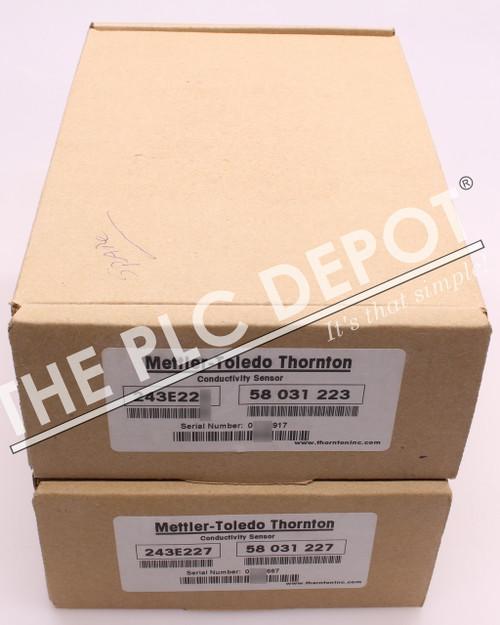 BRAND NEW! Mettler-Toledo Thornton Conductivity Sensor 243E227 58 031 227