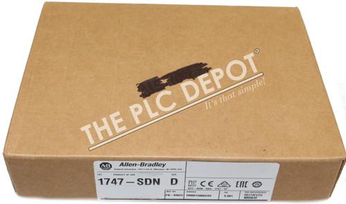 2017! *NEW & SEALED* Allen Bradley 1747-SDN /D Series D DeviceNet Scanner PLC