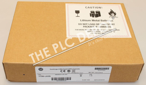 2015 SEALED! Allen Bradley 1756-L63S /B GuardLogix *FREE EXPEDITED  DELIVERY*