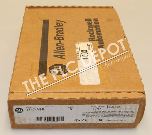 SEALED! Allen Bradley 1747-ASB /A SLC 500 Universal Remote ~FREE EXPEDITED SHIP~