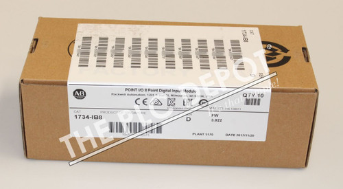~2017-2018~ BOX OF 10 QTY SEALED! Allen Bradley 1734-IB8 Digital input module