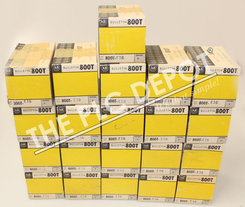 LOT OF 21! ~NEW~ ALLEN BRADLEY 800T-E16 OPERATOR FOR PUSHBUTTON SWITCH
