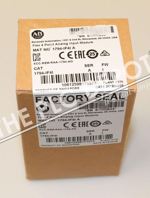 SEALED! Allen Bradley 1794-IF4I FLEX I/O Analog Input Module 4 Isolated I