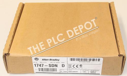 *NEW & SEALED* Allen Bradley 1747-SDN /D Series D DeviceNet Scanner PLC