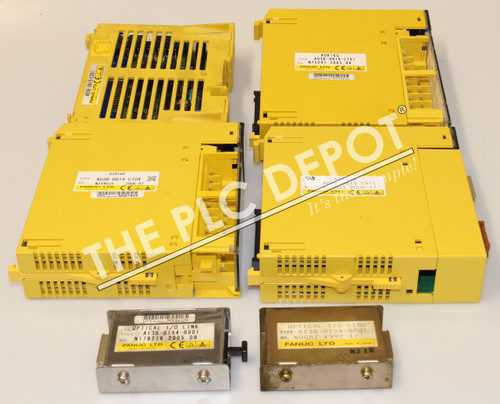 ASSORTED FANUC Cards A03B-0815-C001 0819-C104 C161 C011 A13B-0154-B001