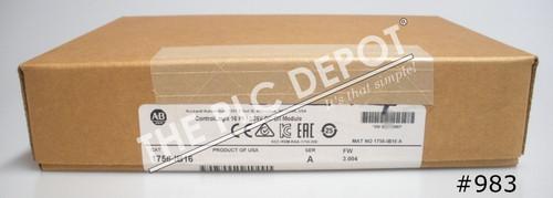 SEALED Allen Bradley 1756-IB16 2017 ControlLogix 16Pt Input Module 10-31VDC #983