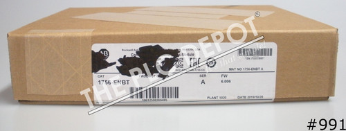 SEALED 2019 Allen Bradley 1756-ENBT 6.006 ControlLogix EtherNet/IP #991