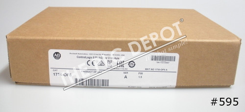 2020 SEALED Allen Bradley 1756-OF8 ControlLogix Analog Output Current #595