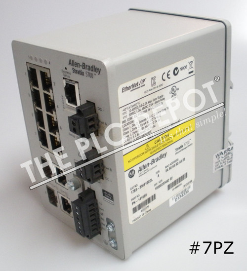 ALLEN BRADLEY 1783-BMS10CGL Stratix 5700 Ethernet Switch 10-Port #7PZ