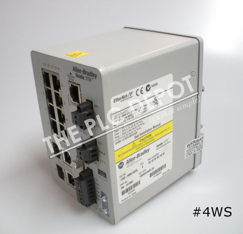 ALLEN BRADLEY 1783-BMS10CGL Stratix 5700 Ethernet Switch 10-Port #4WS